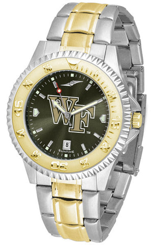 Mens Wake Forest Demon Deacons - Competitor Two Tone AnoChrome Watch