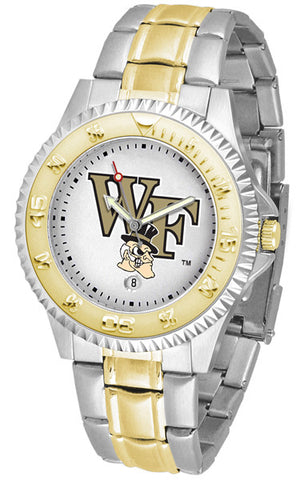 Mens Wake Forest Demon Deacons - Competitor Two Tone Watch