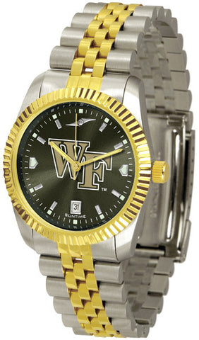 Mens Wake Forest Demon Deacons - Executive AnoChrome Watch