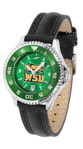 Ladies Wright State Raiders - Competitor AnoChrome Watch - Color Bezel