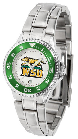 Ladies Wright State Raiders - Competitor Steel Watch