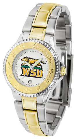 Ladies Wright State Raiders - Competitor Two Tone Watch