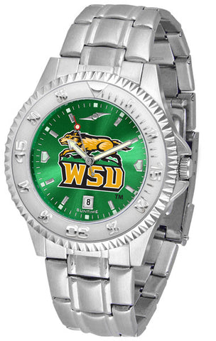 Mens Wright State Raiders - Competitor Steel AnoChrome Watch