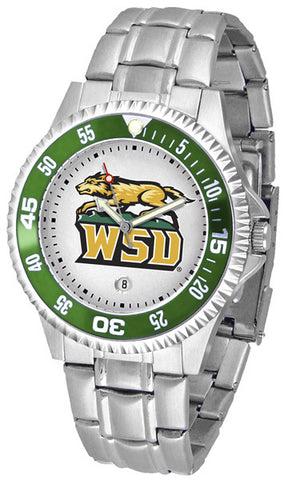 Mens Wright State Raiders - Competitor Steel Watch