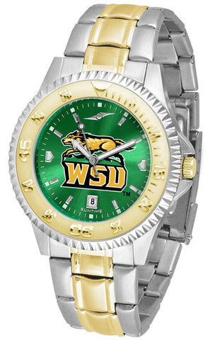 Mens Wright State Raiders - Competitor Two Tone AnoChrome Watch