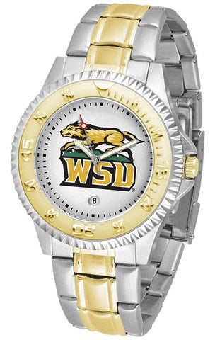 Mens Wright State Raiders - Competitor Two Tone Watch