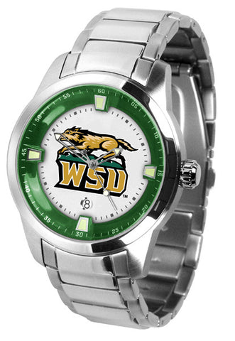 Mens Wright State Raiders - Titan Steel Watch