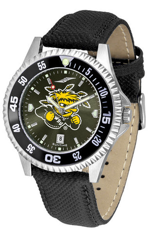 Mens Wichita State Shockers - Competitor AnoChrome Watch - Color Bezel