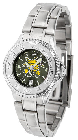 Ladies Wichita State Shockers - Competitor Steel AnoChrome Watch