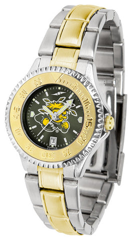 Ladies Wichita State Shockers - Competitor Two Tone AnoChrome Watch