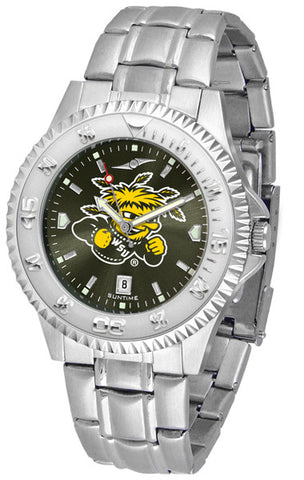 Mens Wichita State Shockers - Competitor Steel AnoChrome Watch