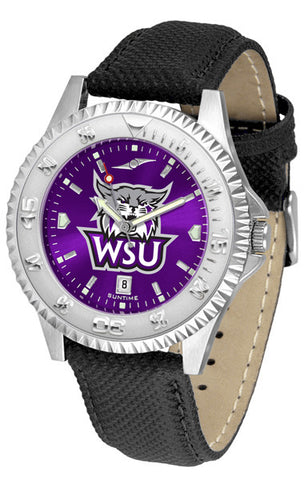 Mens Weber State Wildcats - Competitor AnoChrome Watch