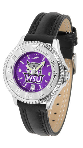 Ladies Weber State Wildcats - Competitor AnoChrome Watch