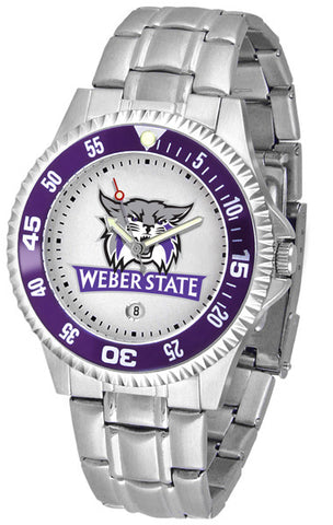 Mens Weber State Wildcats - Competitor Steel Watch