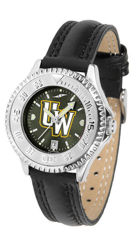 Ladies Wyoming Cowboys - Competitor AnoChrome Watch