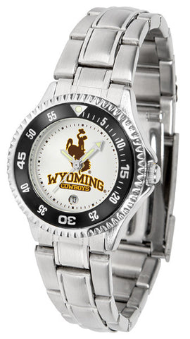 Ladies Wyoming Cowboys - Competitor Steel Watch