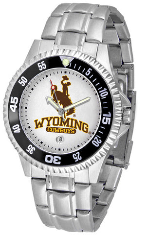 Mens Wyoming Cowboys - Competitor Steel Watch