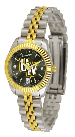Ladies Wyoming Cowboys - Executive AnoChrome Watch