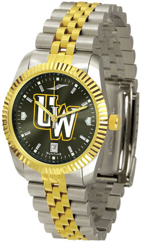 Mens Wyoming Cowboys - Executive AnoChrome Watch