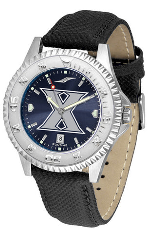 Xavier Musketeers Men  Competitor Watch With AnoChome Dial