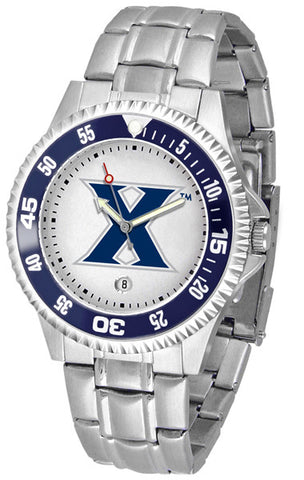Xavier Musketeers Competitor Steel Men's Watch