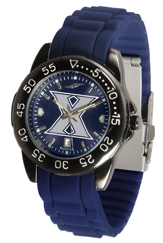 Xavier Musketeers Fantom Sport AC Watch With Color Band