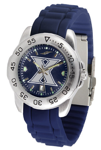 Xavier Musketeers Sport AnoChrome Watch With Color Band
