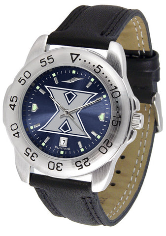 Xavier Musketeers Men Sport Watch With Leather Band & AnoChrome Dial