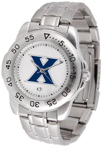 Xavier Musketeers Men Sport Steel Watch