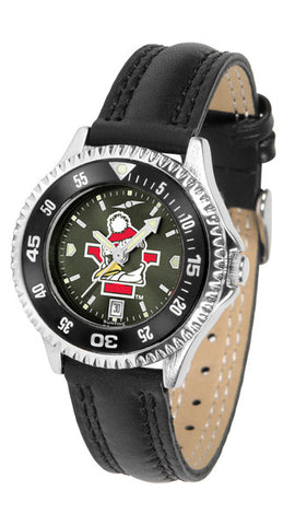 Ladies Youngstown State Penguins - Competitor AnoChrome Watch - Color Bezel