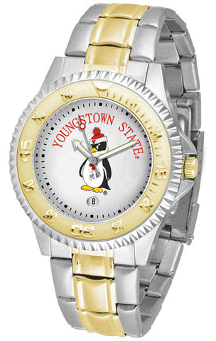 Mens Youngstown State Penguins - Competitor Two Tone Watch