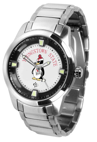 Mens Youngstown State Penguins - Titan Steel Watch