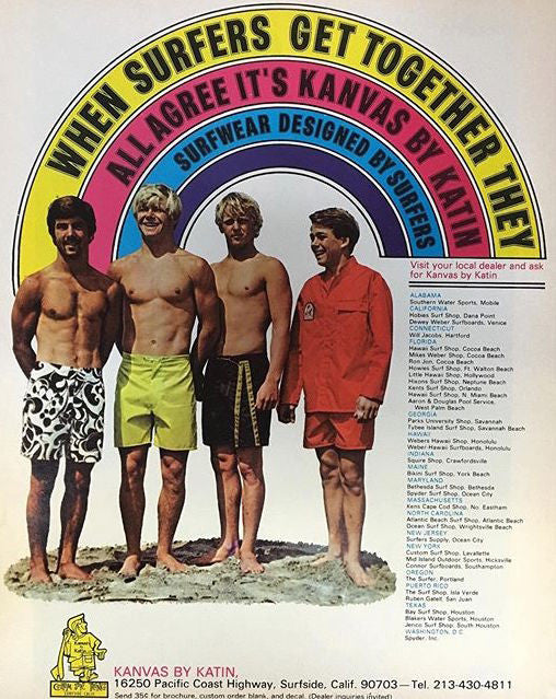 #KatinVault: 1960s Surfers Choose Kanvas by Katin