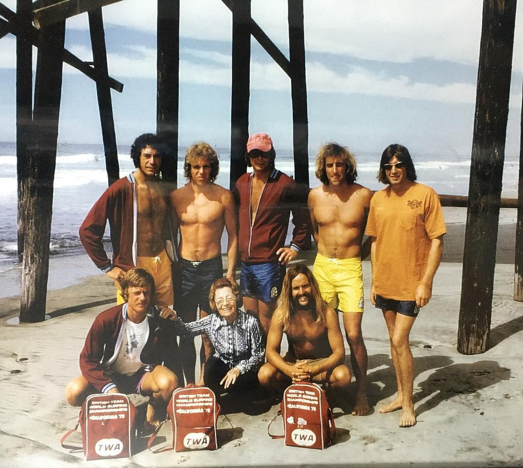 #KatinVault: Nancy Katin and Boys at 1979 British World Championship