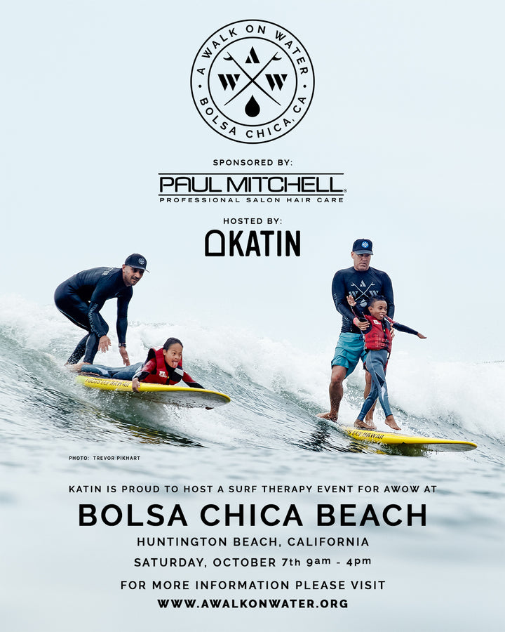 Katin Hosts A Walk On Water Surf Therapy Event In Bolsa Chica For Third Year!