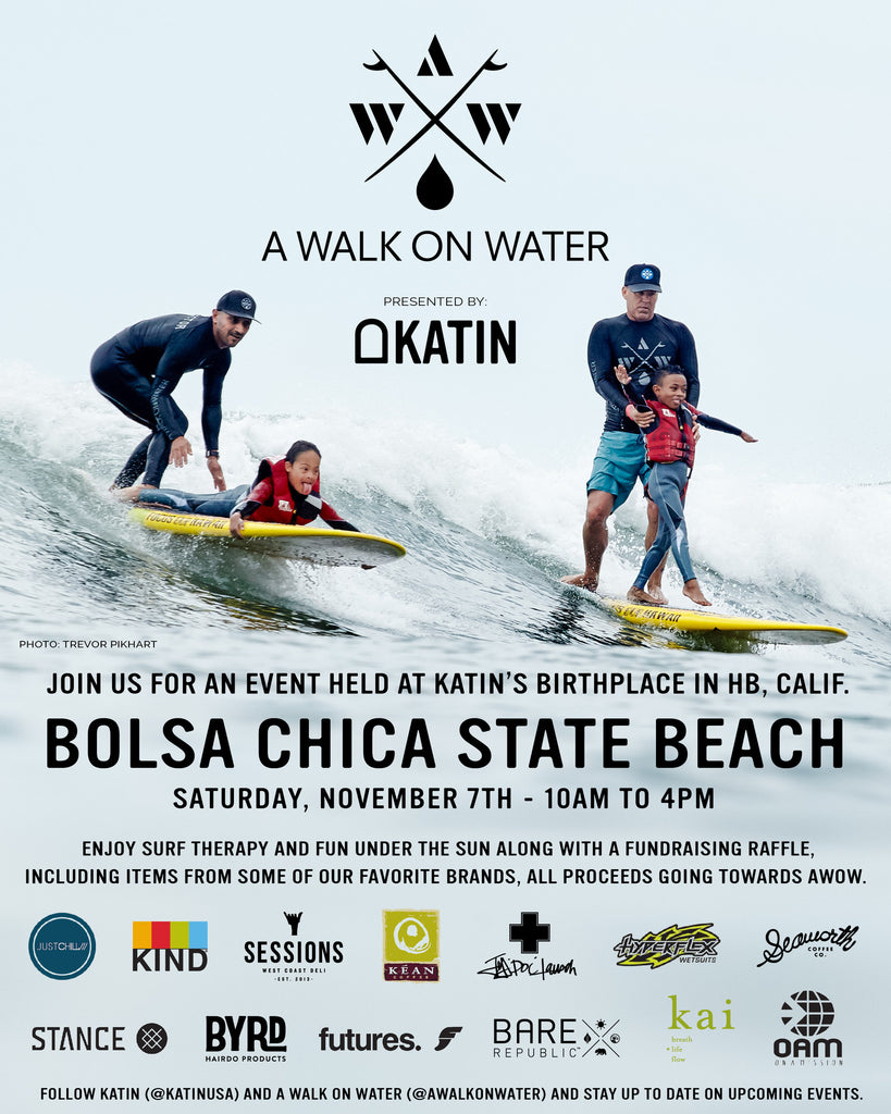 Katin Presents A Walk On Water Event In Huntington Beach