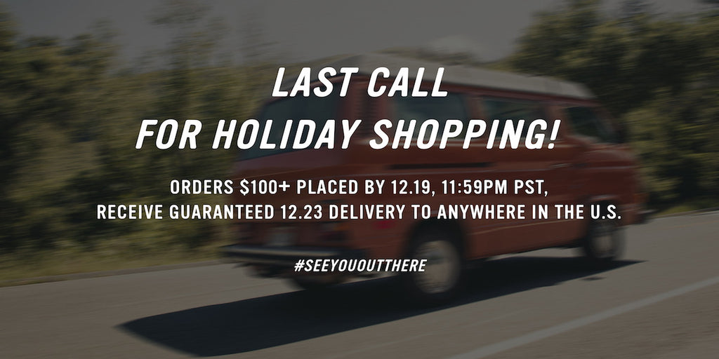 LAST CALL For Christmas Delivery With Free Shipping