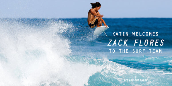 Katin Welcomes New Surfer Zack Flores to the Team