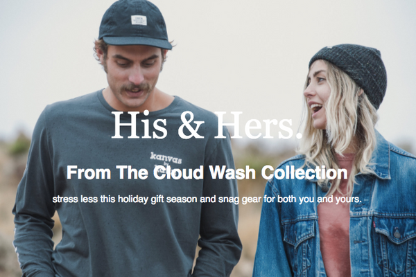 The Cloud Wash Collection