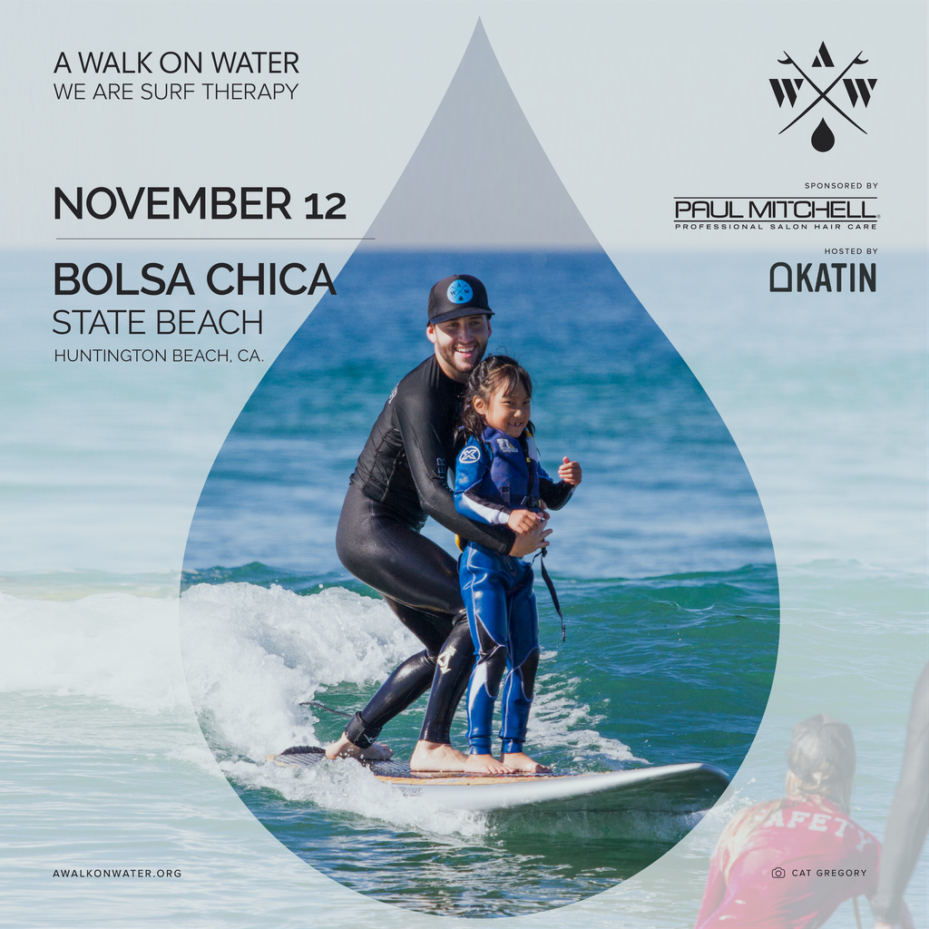SAVE THE DATE: Katin Presents A Walk On Water Surf Therapy Event