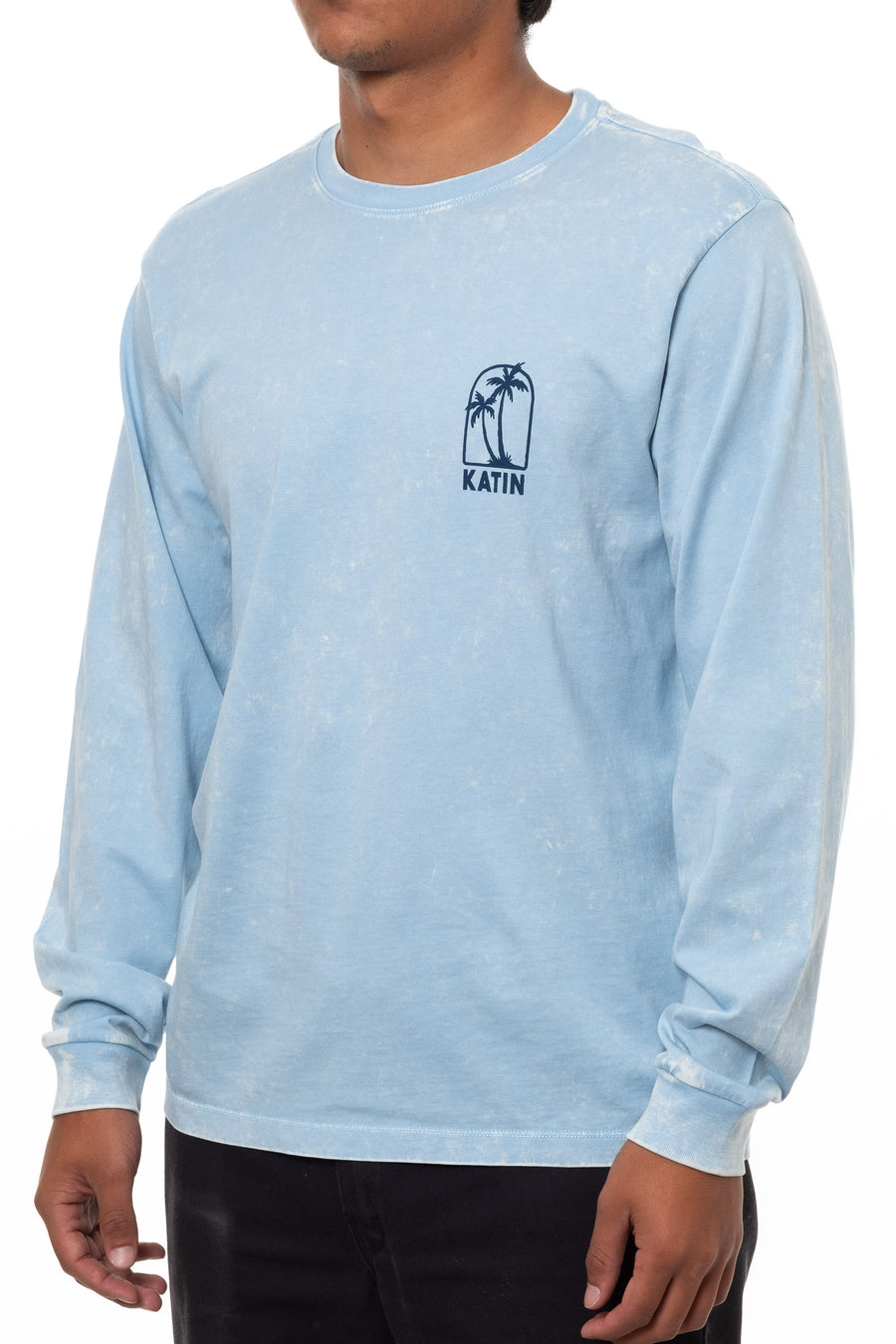 TWIN PALM LONG SLEEVE TEE