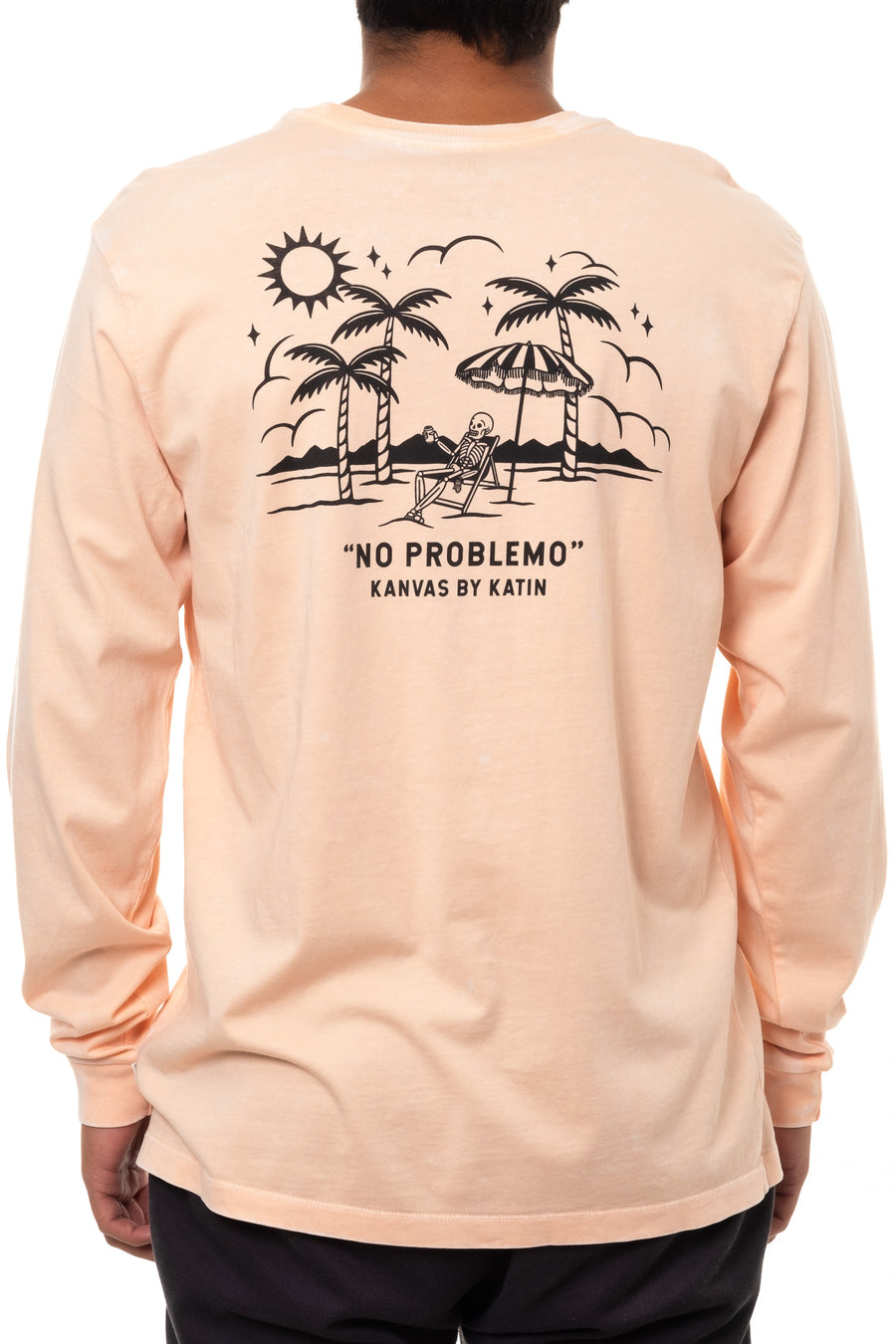 LAZY LEROY LONG SLEEVE TEE