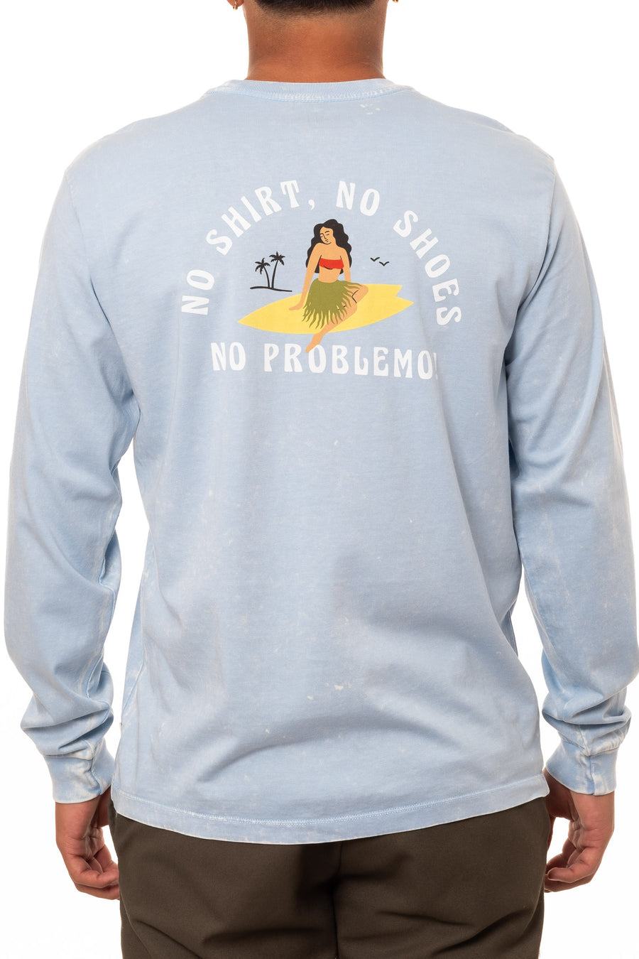 NO PROBLEMO BABE LONG SLEEVE TEE