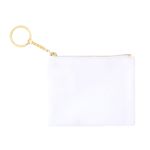 Blank Zip Card Key Fob - Sublimation 1pk