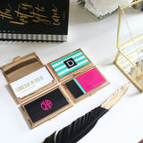 #GIRLBOSS Gold Business Card Holder 1pk