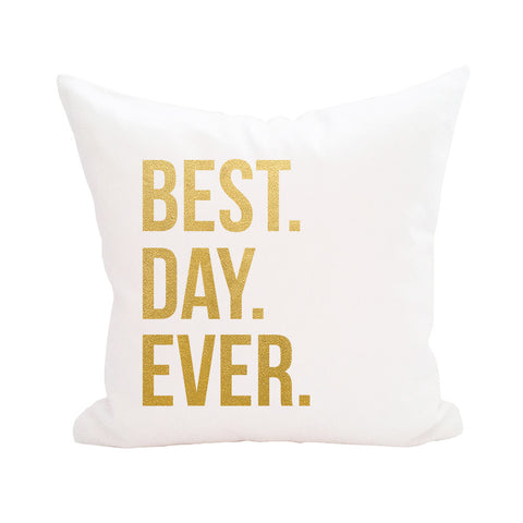 Best Day Ever Pillow Cover 3pk