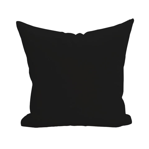 Blank Pillow Cover - Black 1pk