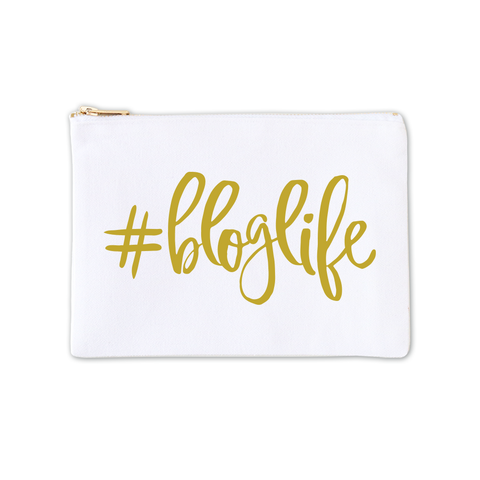 Cosmetic Bag - #BLOGLIFE 1pk