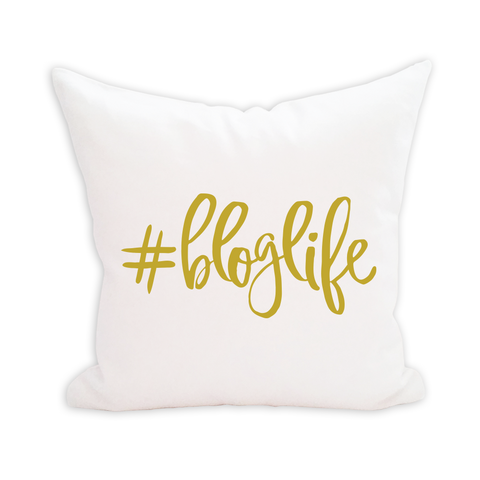 #BLOGLIFE Pillow Cover - 3pk
