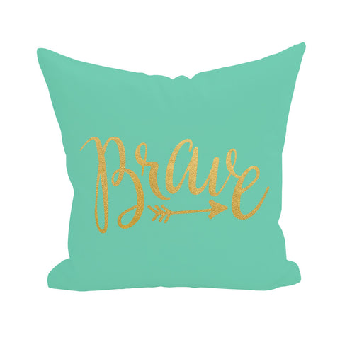 Brave Pillow Cover